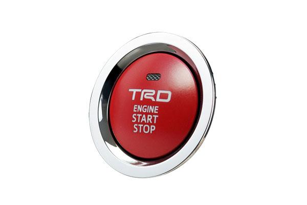 TRD プッシュスタートスイッチ ライズ A200A A210A 19/11~ 除くスタートボタンカバー付車