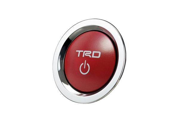 TRD プッシュスタートスイッチ 公式 ガソリン車用 ディスカウント カローラ 9~ NRE210 19 ZRE212