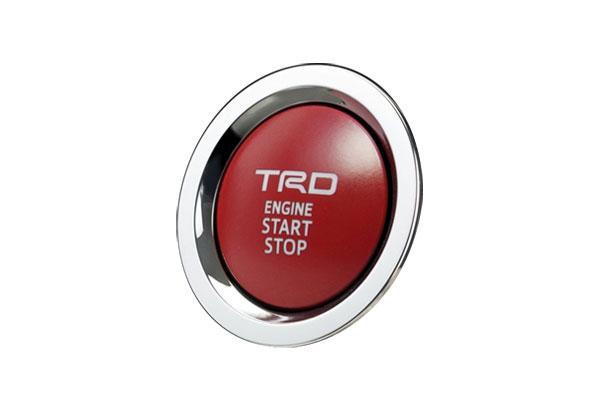 TRD プッシュスタートスイッチ 通常便なら送料無料 HV車用 カローラツーリング 19 ZWE214W ZWE211W 9~ オンラインショッピング