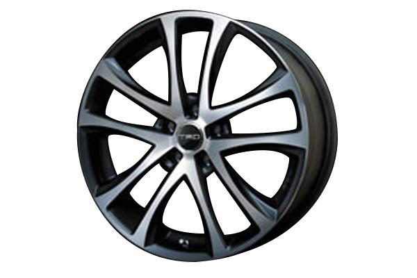[TRD] アルミホイール TF5 シャイニングカット 19インチ 1本 ヴェルファイア ANH20W GGH20W 08/05~15/01 2WD車 除くハイブリッド、サイドリフトアップシート付車