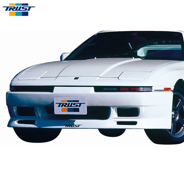[TRUST] トラスト フロントバンパースポイラー (FRP) 未塗装 スープラ JZA70 90.08~93.05 後期型 ワイドボディ車専用 個人宅配送不可 北海度・沖縄・離島は要確認