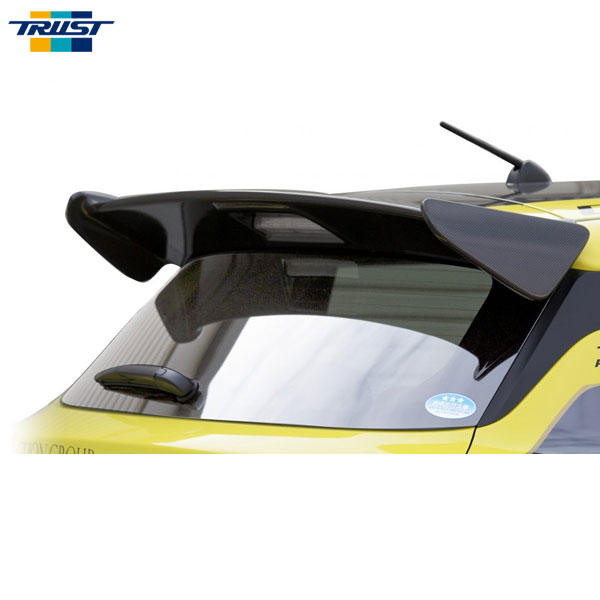 [TRUST] トラスト リアウィングスポイラー (カーボン) 未塗装 スイフトスポーツ ZC33S 17.09~ 個人宅配送不可 北海度・沖縄・離島は要確認