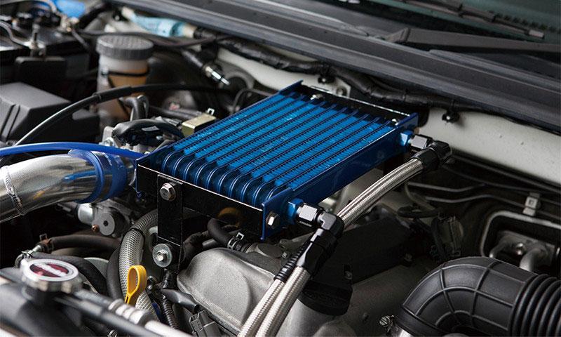 TRUST トラスト GReddy オイルクーラーキット スタンダードタイプ 12段 エンジン上 ジムニー JB23W 05.10~10.08 K6A