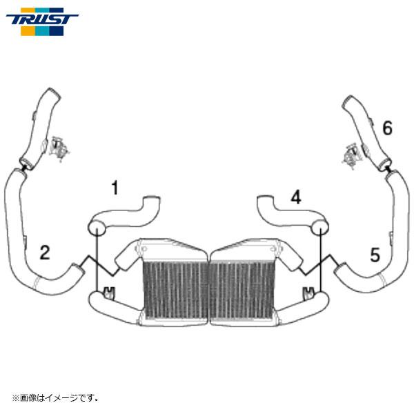 TRUST トラスト GReddy アルミインテークパイプセット GT-R R35 2007/12~ VR38DETT