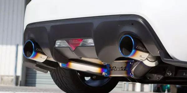 [TRUST] トラスト GReddy スーパーストリートチタン マフラー BRZ ZC6 12.03~ F20A 2.0L FR