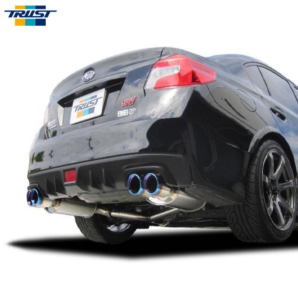 [TRUST] トラスト GReddy パワーエクストリームR マフラー WRX STI VAB 14.08~ EJ20(T/C) 2.0L 4WD