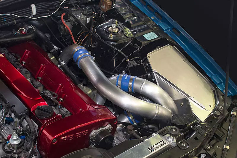 [TRUST] トラスト GReddy レーシングエアインテークキット スカイラインGT-R BCNR33 95.1~99.1
