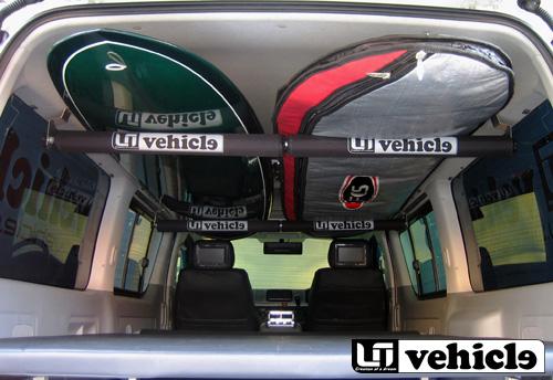 UIvehicle ルームキャリアー 【ハイエース 200系 標準ボディ [スーパーGL] 】 送料:北海道2000円税別、離島/沖縄は要確認