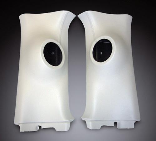 UIvehicle Dピラースピーカーキット (スピーカー無し) 【ハイエース 200系 標準ボディ (1~4型) [スーパーGL] 】 (送料:北海道/沖縄/離島は2000円税別)