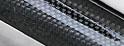 UIvehicle 【Forbito】 カーボンアーチパネル リア (リアルカーボン) クリアー仕上げ 【ハイエース 200系 標準ボディ (3型) 】 (送料:北海道3000円税別 沖縄離島要確認)