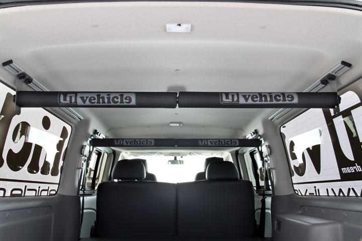 Uivehicle スライドルームキャリアー NV350キャラバン プレミアムGX用 送料:北海道3000円税別、離島/沖縄は要確認