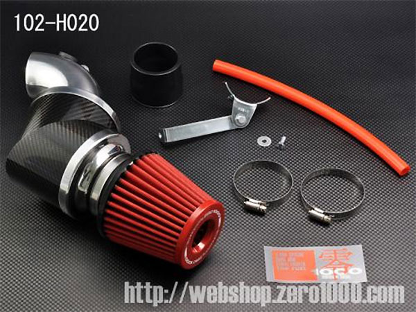 ZERO-1000 パワーチャンバーTYPE-2 スーパーレッド フィット GD3 GD4 2004.6~2007.10 L15A 5MT車専用