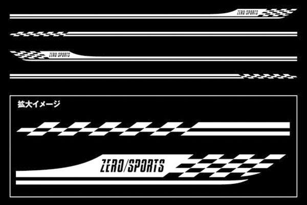 [ZERO/SPORTS] ゼロスポーツ ピンストライプ ガンメタリック