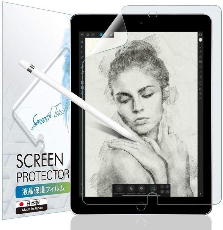 iPad 10.2 第8世代 2020 第7世代 2019 ブルーライトカット ペーパーライク フィルム 非光沢 紙のような書き心地 IPD102PLBLC BELLEMOND 上質紙 市場の日10%OFFクーポン 日本製 反射防止 超激安特価 購買 アンチグレア