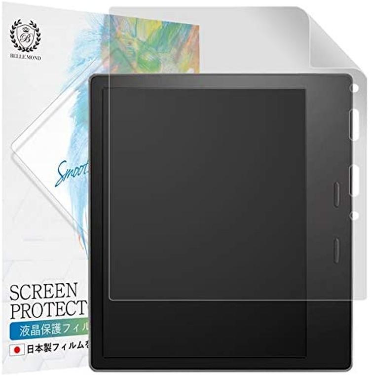 Kindle Oasis 第10世代 2019年 格安 第9世代 2017年 高精細 ペーパーライク まとめ買い特価 フィルム 日本製 液晶保護フィルム 気泡防止 貼付け失敗時 反射防止 B006KO9PL10 指紋防止 アンチグレア BELLEMOND 無料再送 紙のような触り心地 画面が見やすい