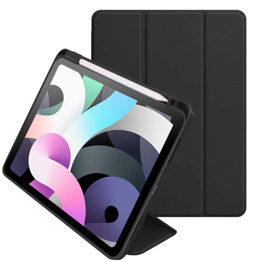ベルモンド iPad Air4 10.9 ケース 捧呈 第4世代 2020 ペン収納 ペンホルダー付き スタンド機能付き 三つ折り ネコポス 軽量 傷つき防止 4日20時よりスーパーSALE オートスリープ対応 手帳型 保護カバー 薄型 割引も実施中 全面保護