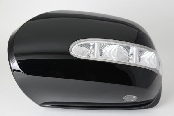 BENZ X164 GL550 4マチック 左H 純正ドアミラーカバー(左側)【中古】