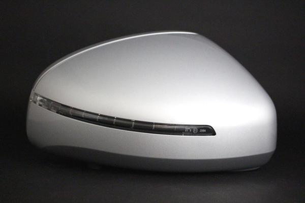 アウディ TTクーペ アイスシルバーメタリック 【LX7W】純正ドアミラーハウジング(右側)美品