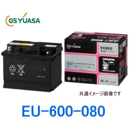 GSユアサ EU-600-080 EUシリーズ 欧州車専用バッテリー 外車用/GS YUASA GYB