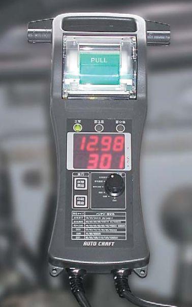 プリンタ付きCCAテスターSP1250BT