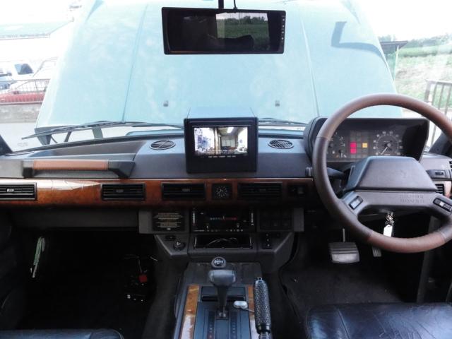 カーナビ 取付施行サービス一式  専用2DINキット付含む レンジャースオリジナル ナビキット  クラシックレンジローバー('90‐'93前期モデル)専用キット  ※純正スピーカー配線加工含む