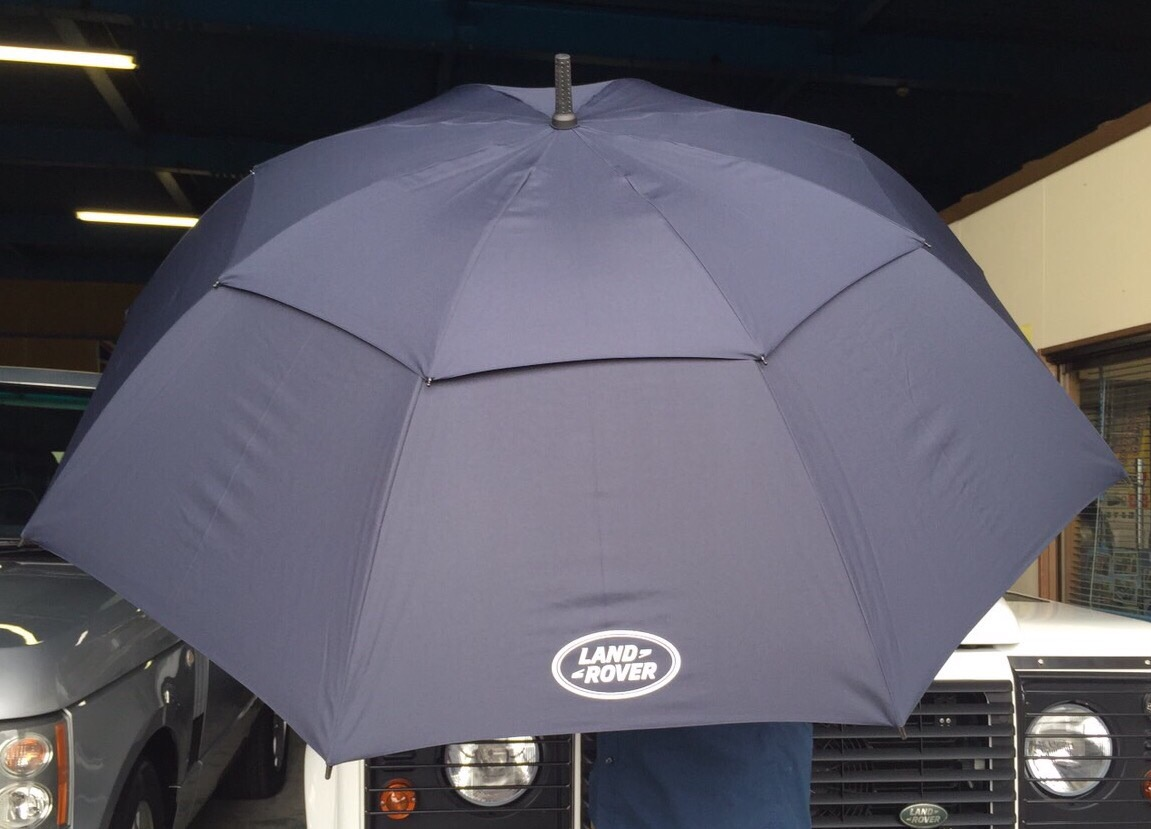 ゴルフアンブレラ Golf umbrella ランドローバー ロゴプリント傘