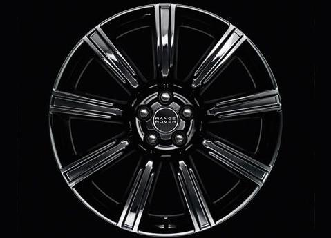 20 INCH FORGED NINE-SPOKE GLOSS BLACK FINISH 【純正】EVOQUE イヴォーク 8.0J x 20 inch ホイール