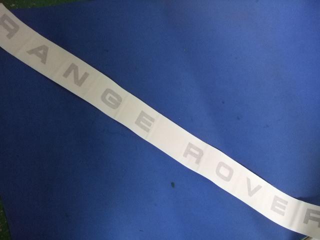 RANGE ROVER デカール【国内社外製】 前後2枚セット 平面ステッカータイプ カラー3種 ブラック・グレー・シルバー[適合車種]クラシックレンジローバー CRR