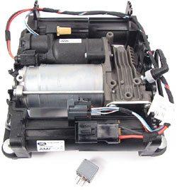 エアサスコンプレッサー OEM【社外製BM】AMKタイプ 3rd レンジローバー L322 中期後期 2006-2012 モデルによりコーディング必要
