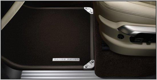 プレミアム・カーペットマットセット(1台分)右ハンドル車用【LR純正品】[適合車種]サードレンジローバー  ※要車台番号 数種類有り 適合確認 全4色 イギリスUK取り寄せ品