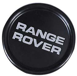 RANGE ROVERホイールキャップ/ホイールセンターキャップ【純正】4個セット ブラック/シルバー [適合車種]クラシックレンジローバー