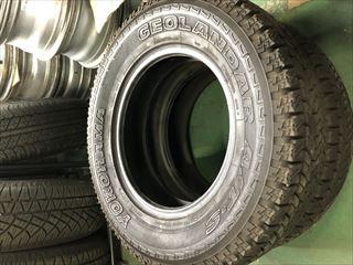 中古タイヤ 2本セット  205/80R16 ヨコハマ ジオランダーA/T-S   クラシックレンジローバー RRC/CRR ほぼ未使用