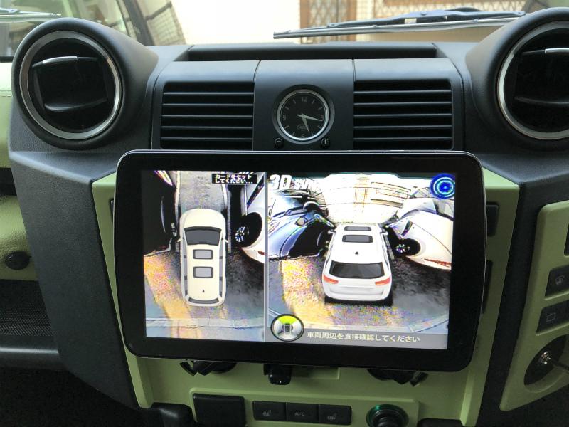 ゴールデンアイ(360度ビュー) アラウンドビューモニターカメラ 施工取付【社外製】 セッティング/コーディング一式含む  ※モニターはカーナビ用か別途モニター要必要全方向ドライブレコーダー&防犯カメラ機能付
