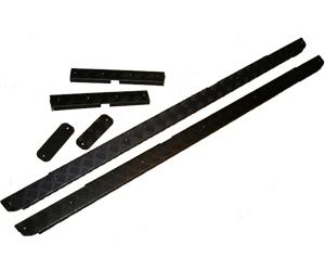 サイドプロテクターキット ブラック 【純正】 左右セット プロテクション プレートキット   DEFENDER110 ディフェンダー110  Chequer Plate Protection Kit