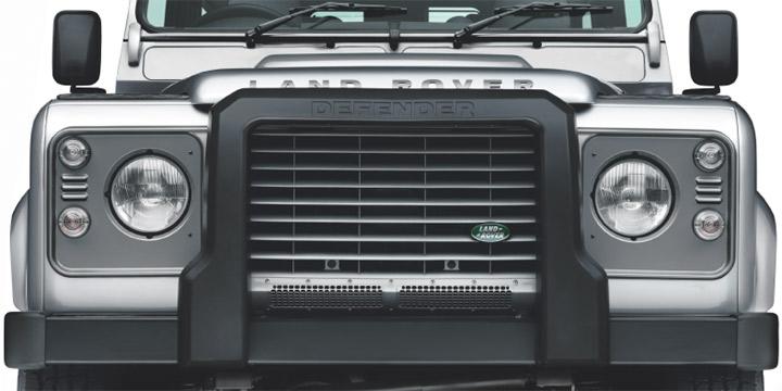 プロテクションバー UK純正品 新作からSALEアイテム等お得な商品満載 A-Frame Protection Bar - Non Tdciディフェンダー'07- 超人気 適合車種 Winch Version