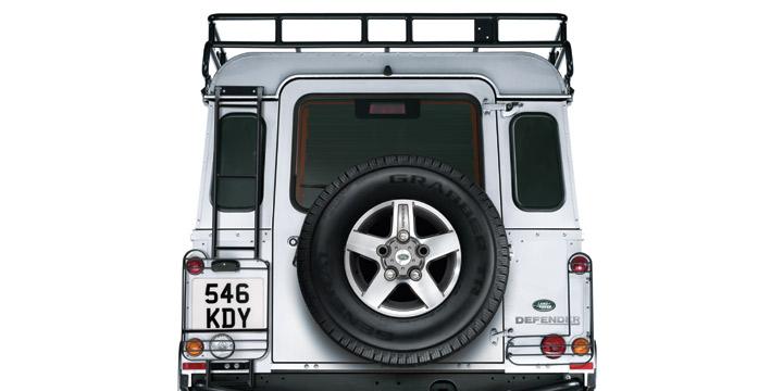 リアラダー【純正】[適合車種]ディフェンダー※大型商品のため送料別途DEF90/110 Rear Access Ladder