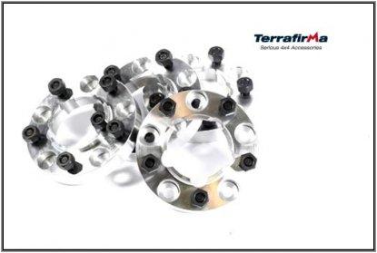 ホイールスペーサー【Terrafirma】  4セット アルミホイールスペーサー 30ミリ 各車タイプ有