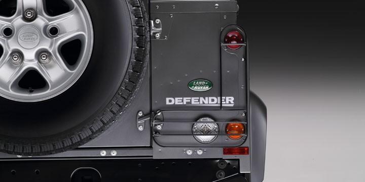 ランプガード 右側L字単品 宅配便送料無料 純正 ディフェンダー DEFENFERHinged 安心と信頼 Lamp Guard Single