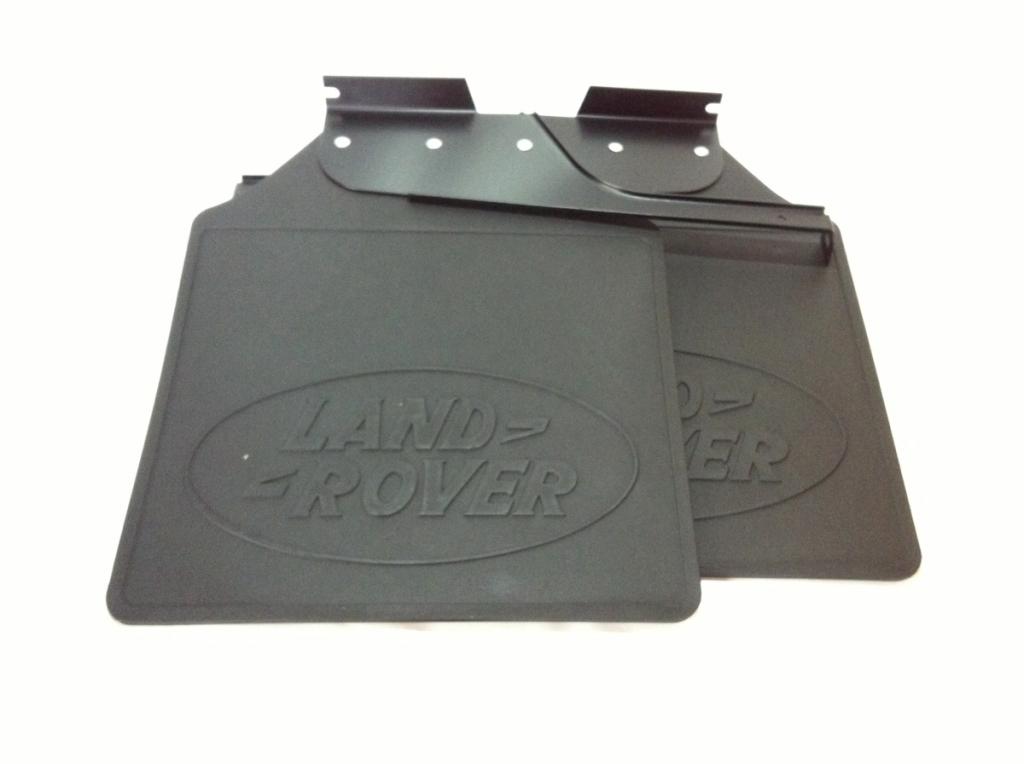 リア マッドフラップ マッドガード 左右セット 発売モデル 純正 新品 LANDROVERロゴ 適合車種 ディフェンダー110 オーバル