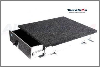 TERRAFIRMA SW REAR DRAWER SYSTEM 90/110 up to 2007 ディフェンダー用 リアドロワー(引き出し) ~2007モデル