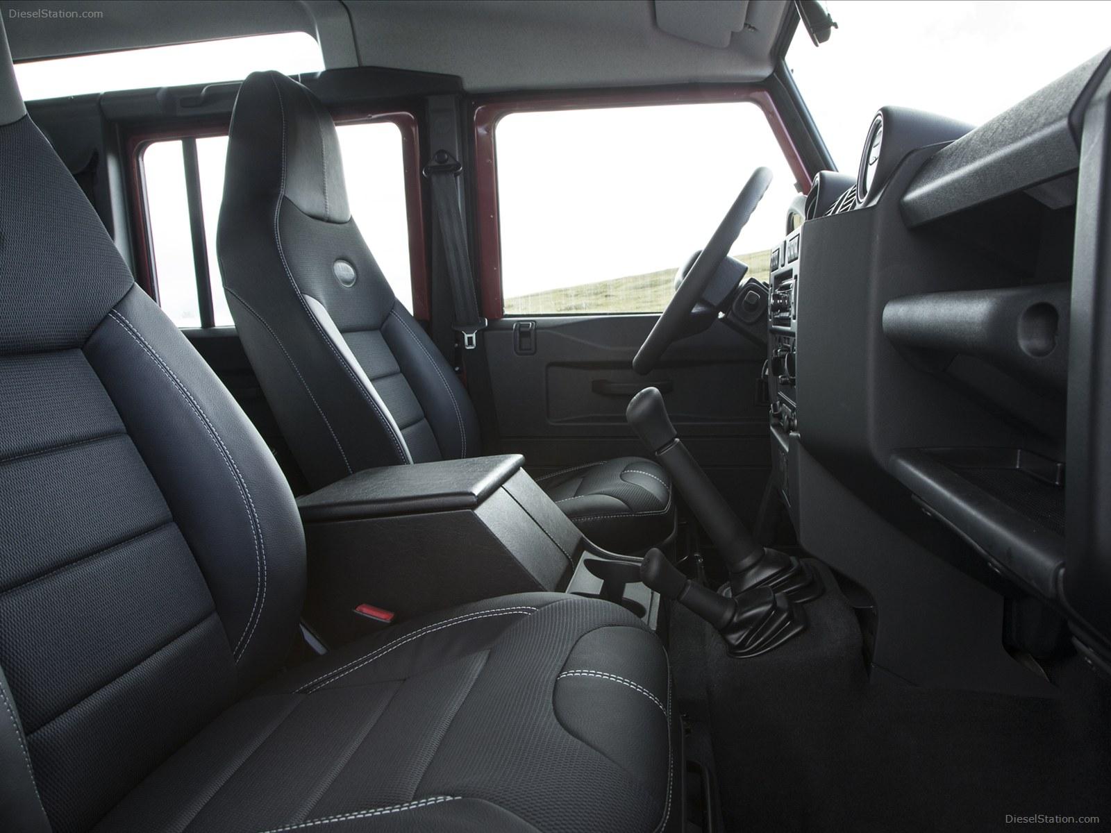 14モデル 新車 ディフェンダー110 【オプション】  ヘッドレスト一体型シート 全席7席   現地UKディーラーOP