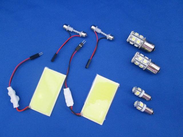 YRD LEDバルブ 定価の67%OFF 6点KIT 室内 商品追加値下げ在庫復活 面発光LED×2 リバース×1 保証1年間 DEFENDER ハイマウント×1ディフェンダー ライセンス×2