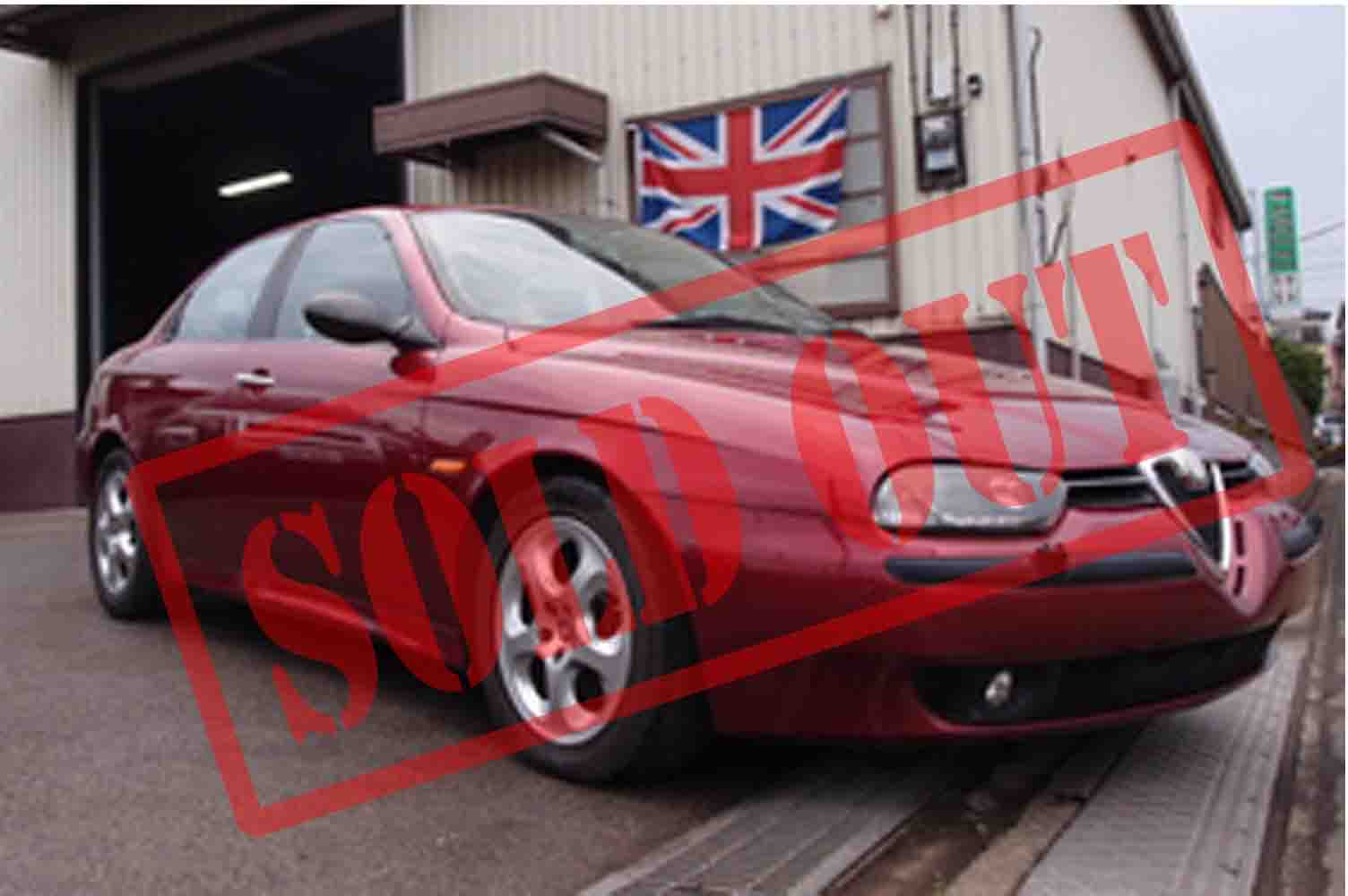Alfa Romeo 156 アルファロメオツインスパークAT セレスピード