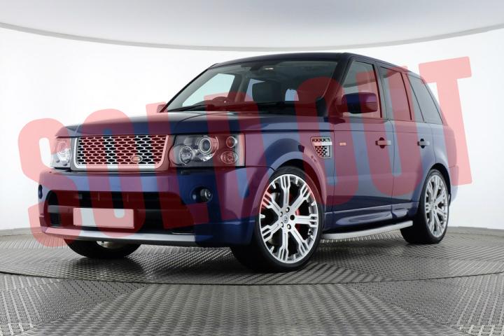 【売約済み】'07 Range Rover Sport 3.6 TDV8 HSECairns BlueレンジローバースポーツUK仕様ディーゼルエンジン搭載モデルケアンズブルーUKよりダイレクトインポートポスト新長期排ガス規制クリア
