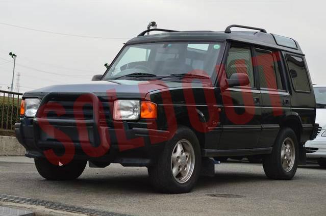 【売約済み】97 ディスカバリー 300Tdi Countyシリーズ1エプソムグリーンディーゼルターボ NOx・PM法の規制対象車