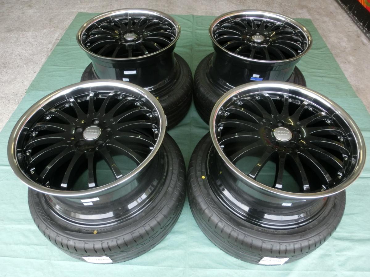 驚きの価格 carlsson 1 1/16RS/16RS BK&ブリヂストン S007A carlsson アウディ・A4,S4 245/30-20 アウディ・A4,S4, カゴシマシ:6a14842a --- kalpanafoundation.in