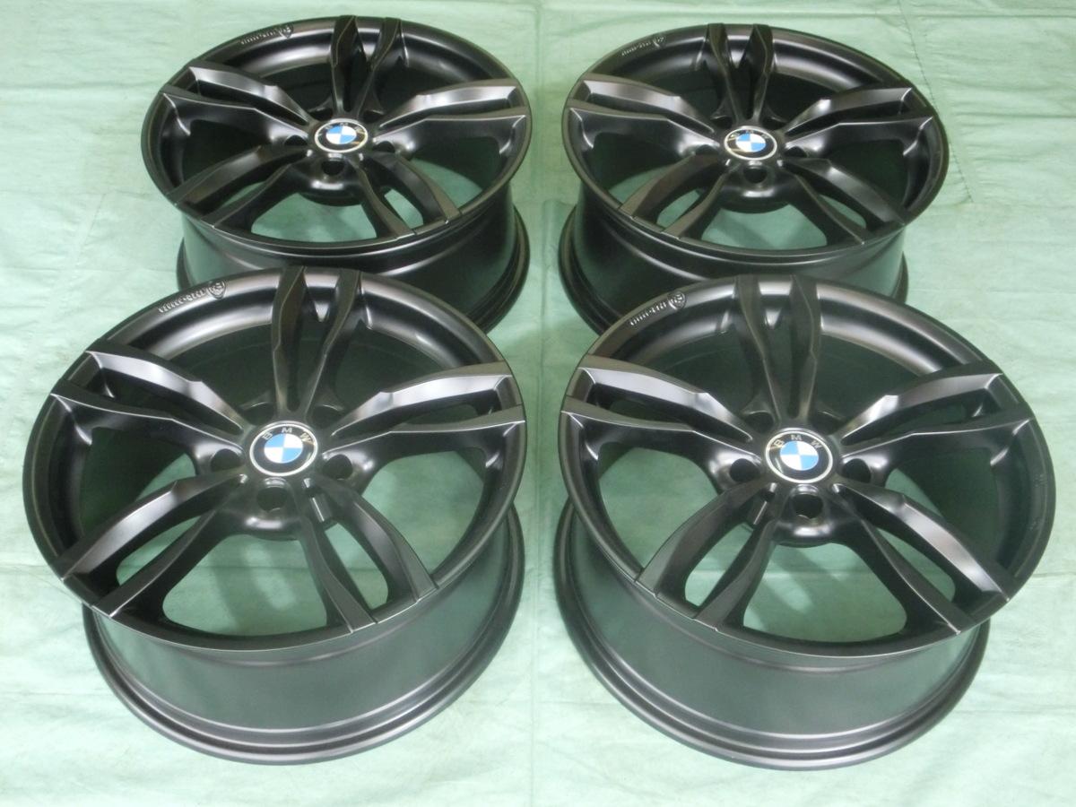 MAK・ルフト(5H/120) マットブラック 18インチ BMW・3シリーズ、4シリーズ、5シリーズ、X1、X3、Z4 4本セット