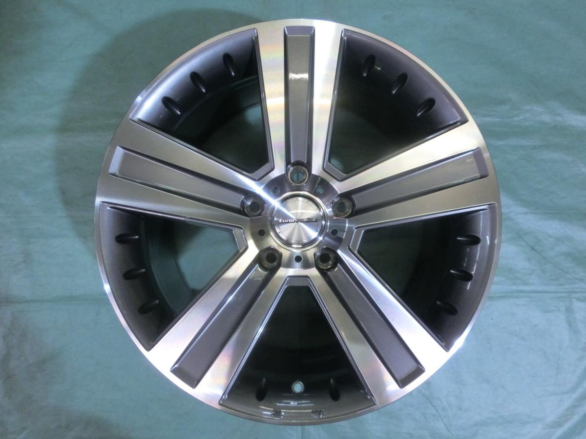 新品 ユーロプレミアム・WERNER(5H/112) 20インチ 4本セット ベンツ・GLE、ML、GLA、GLS、BMW・X1、X2