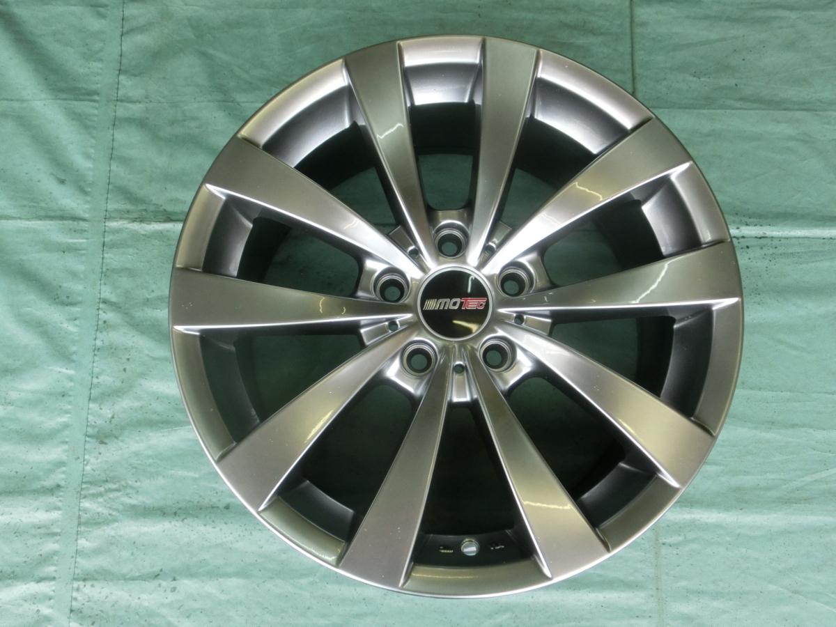 新品 MOTEC GLEN(5H/120) 18インチ 4本セットBMW・3シリーズ、4シリーズ、5シリーズ、Z4、X1、X3、X4