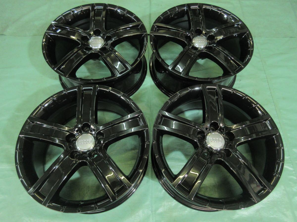 新品 スタッドレス ピレリ ICEas 235/50-18&PORTO アウディ・A7、A8 ブラック